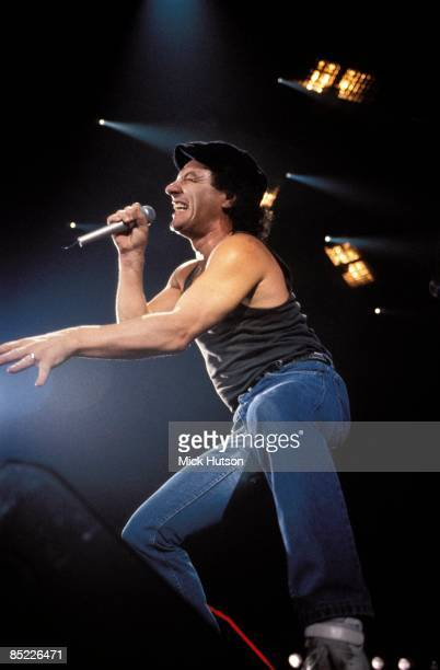 ARENA Photo of AC DC and AC/DC and Brian JOHNSON Brian Johnson performing live onstage