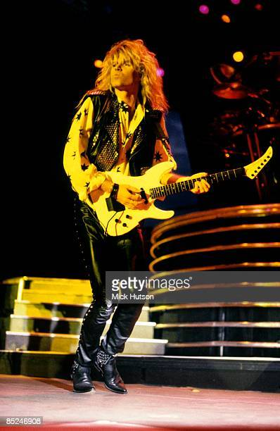 APOLLO Photo of Adrian VANDENBERG and WHITESNAKE Adrian Vandenberg performing live onstage