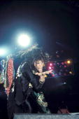 Photo of AEROSMITH and Steven TYLER Steven Tyler performing live onstage Photo by George De Sota /Redferns
