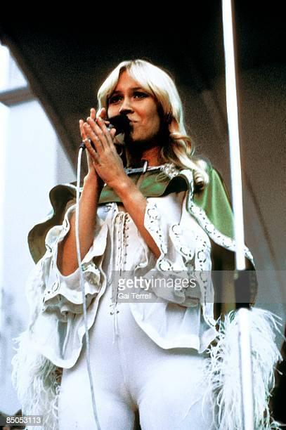 Photo of Agnetha FALTSKOG and ABBA Agnetha Faltskog performing live onstage