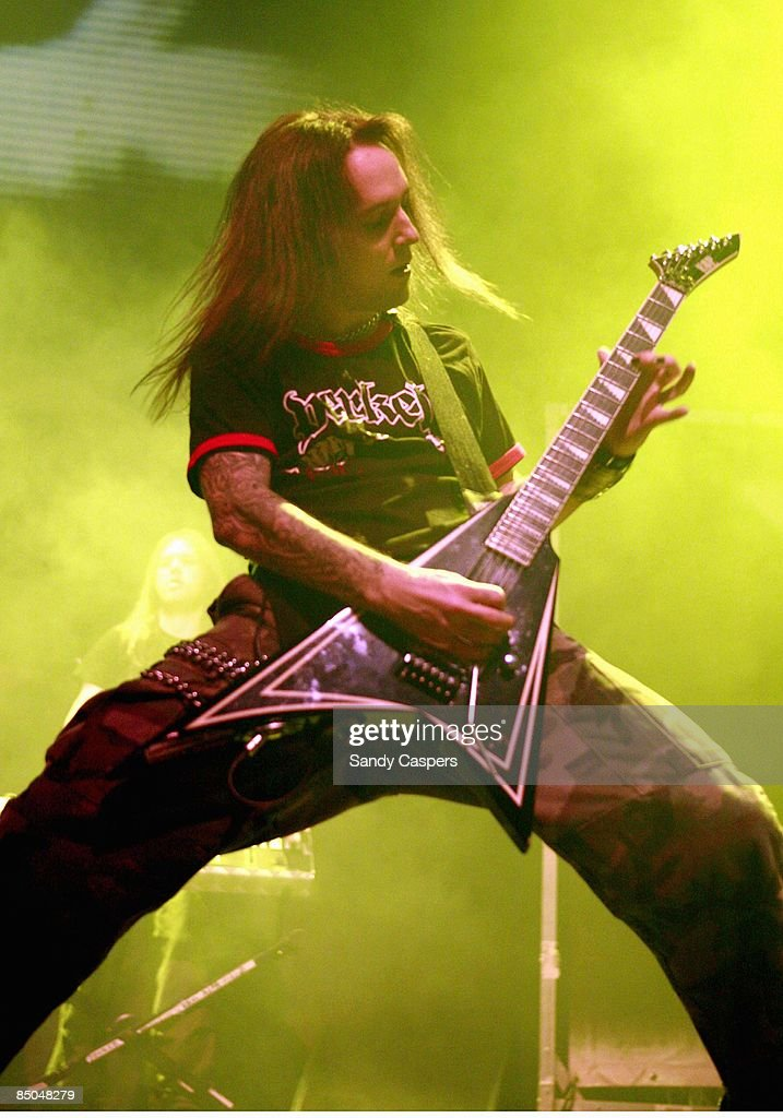 Photo of Alexi LAIHO and CHILDREN OF BODOM Alexi Laiho