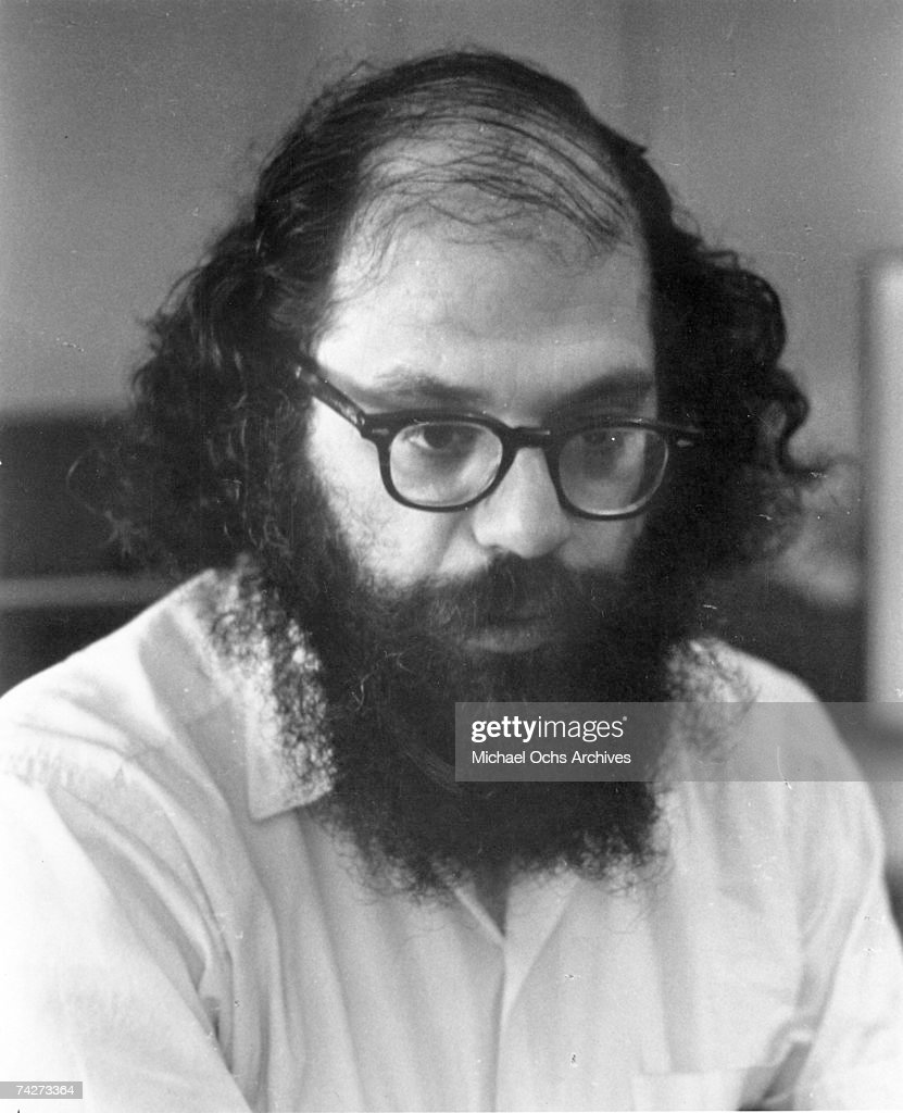 Photo of Allen Ginsberg Photo by Michael Ochs Archives/Getty Images