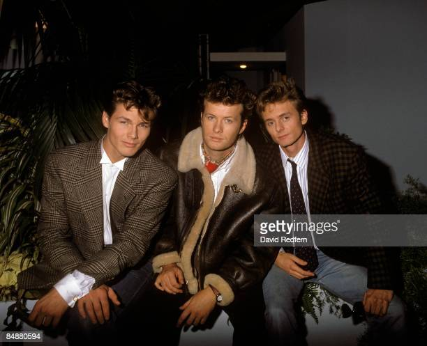 FESTIVAL Photo of AHA LR Morten Harket Mags Furuholmen Pal Waaktaar