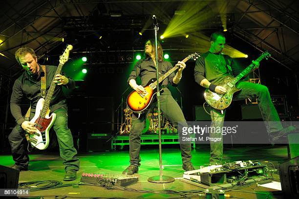 TONHALLE Photo of ALTER BRIDGE and Brian MARSHALL and Myles KENNEDY and Mark TREMONTI LR Brian Marshall Myles Kennedy and Mark Tremonti performing on...