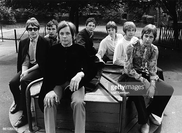 Photo of AMEN CORNER and Andy FAIRWEATHERLOW and Blue WEAVER and Neil JONES and Dennis BYRON and Mike SMITH and Clive TAYLOR and Allan JONES Allan...