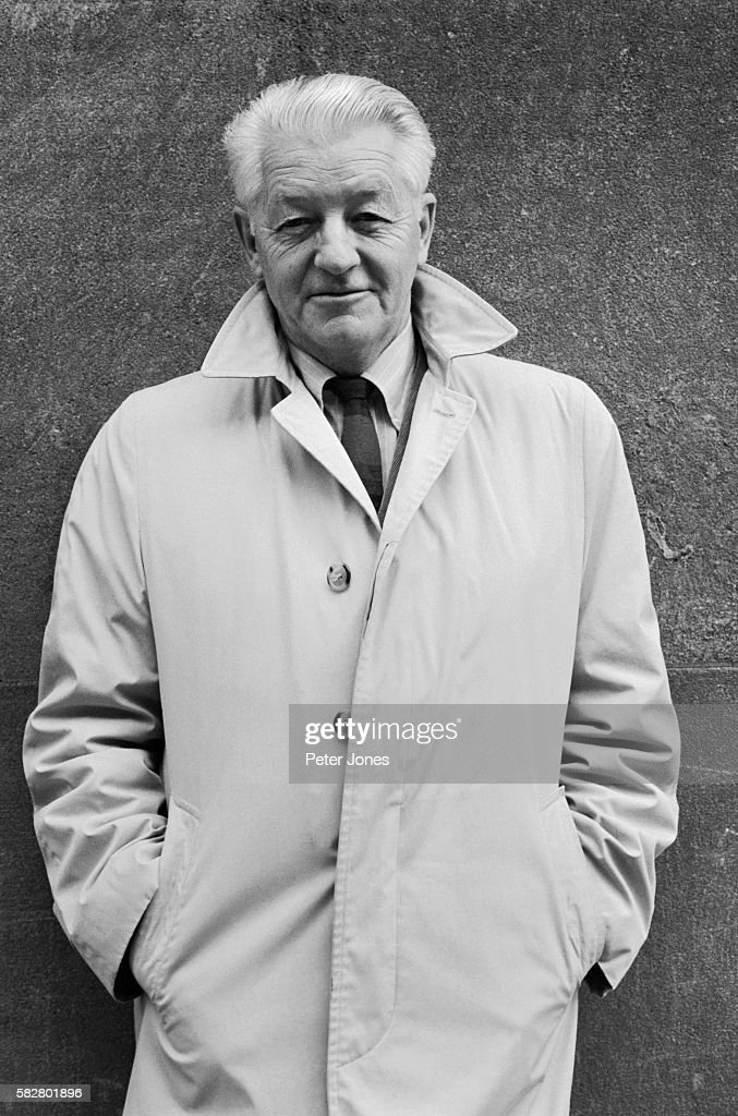Photo of American author Wallace Stegner This waistup photo shows Stegner slightly smiling with his hands in his pocket Undated photograph