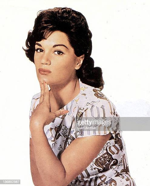 Photo of American pop singer Connie Francis posed circa 1960