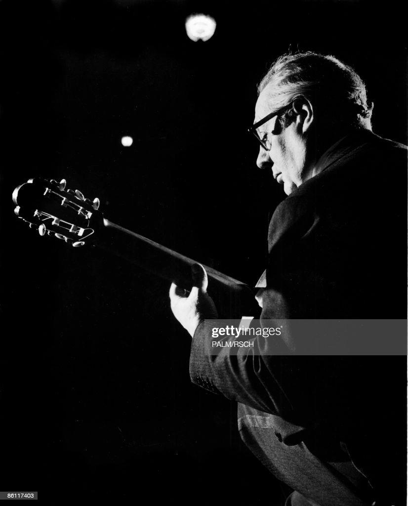Photo of Andres SEGOVIA; Andres Segovia, Spanish Classical Guitarist, SF