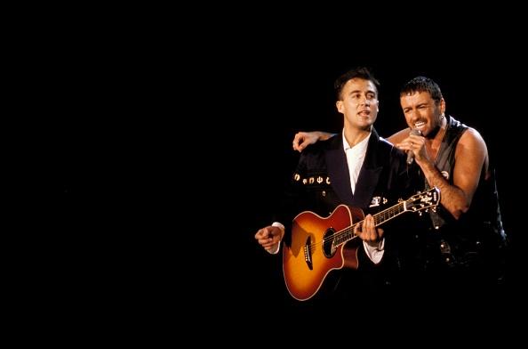 Photo of Andrew RIDGELEY and George MICHAEL and WHAM Andrew Ridgeley ...