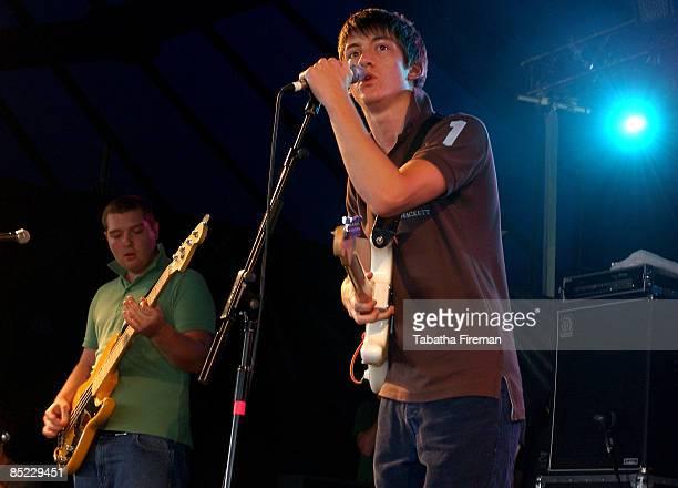 FESTIVAL Photo of Arctic Monkeys @ Reading 2005 27/08/05 Arctic Monkeys @ Reading 2005 27/08/05 Carling stage