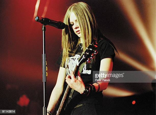 Photo of Avril LAVIGNE /AVRIL LAVIGNE/ANCIENNE BELQIUE/ BRUSSEL/BELGIE