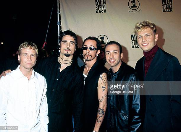 Photo of BACKSTREET BOYS Photo by George De Sota /Redferns