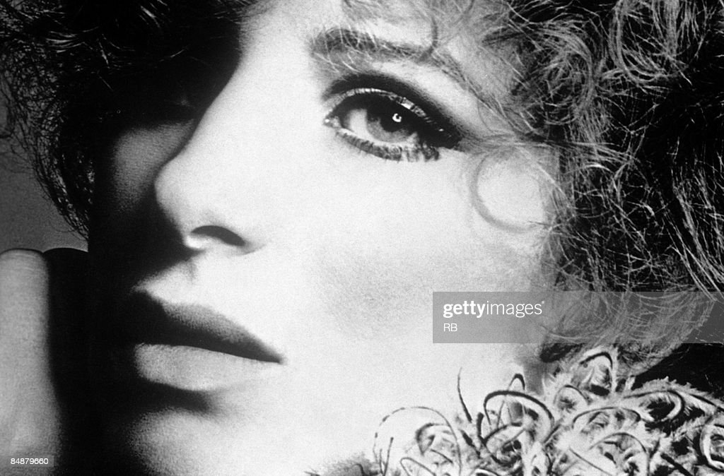 Photo of Barbra STREISAND; Posed studio portrait of Barbra Streisand,