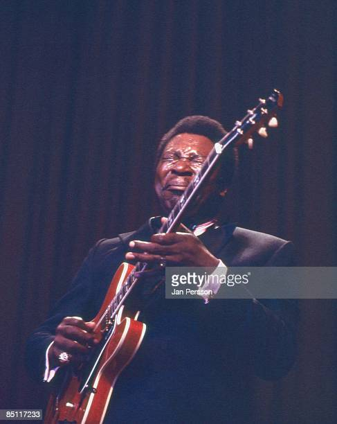 Photo of BB KING BB King performing live onstage