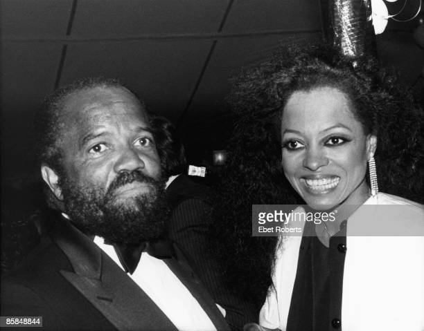 Photo of Berry GORDY and Diana ROSS with Berry Gordy