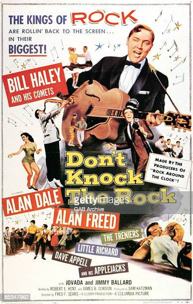 Photo of Bill HALEY Film poster for Don't Knock The Rock