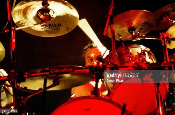BIRMINGHAM Photo of Bill WARD and BLACK SABBATH Bill Ward performing live onstage