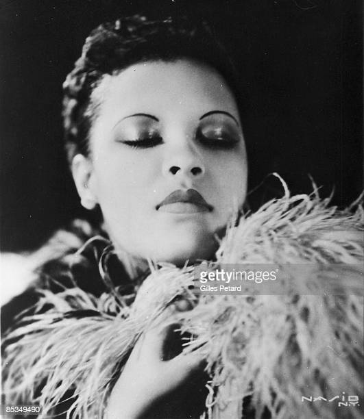 Photo of Billie HOLIDAY Posed studio portrait of Billie Holiday