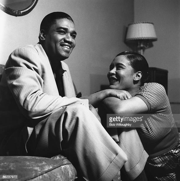 Photo of Billie HOLIDAY with her husband Louis McKay