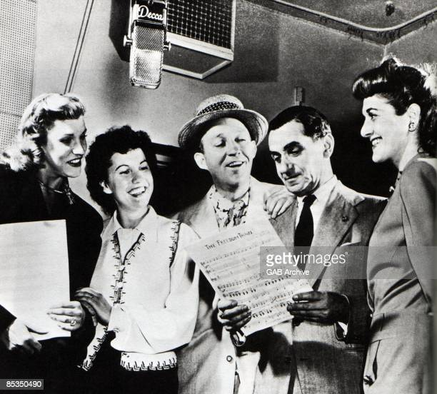 Photo of Bing CROSBY and Bing CROSBY and Irving BERLIN and Patty ANDREWS
