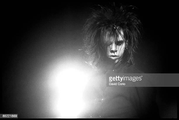 Photo of BIRTHDAY PARTY Nick Cave with the Birthday Party at The Ace Brixton London 1141982