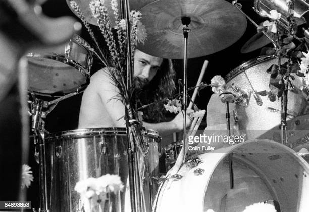 FESTIVAL Photo of BLACK SABBATH and Bill WARD Drummer Bill Ward performing on stage