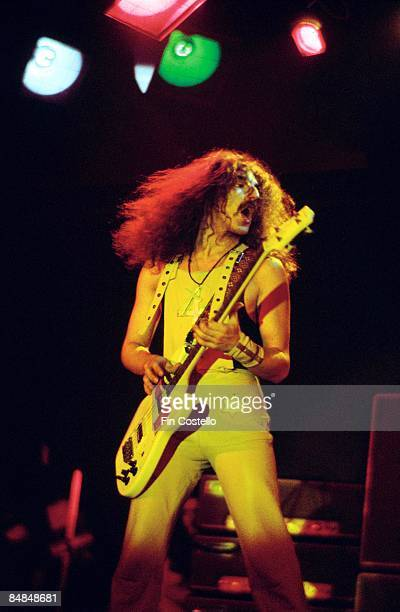 Photo of BLACK SABBATH Geezer Butler live on stage