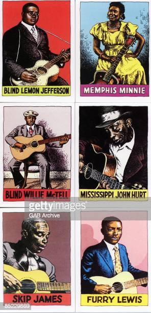 Photo of BLUES and MEMORABILIA Blues Cards Robert Crumb