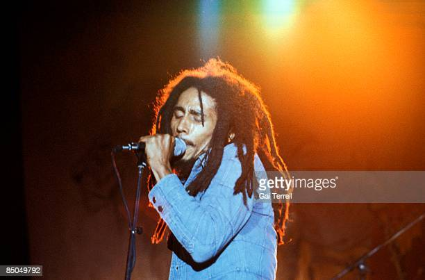 USA Photo of Bob MARLEY Bob Marley performing live on stage