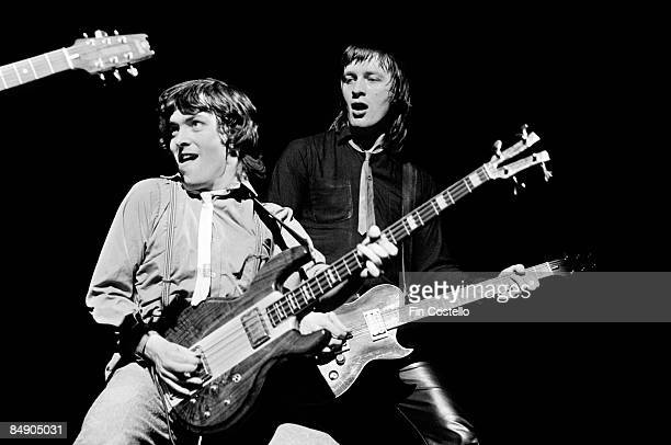 Photo of BOOMTOWN RATS and Pete BRIQUETTE and Garry ROBERTS Pete Briquette and Garry Roberts performing on stage
