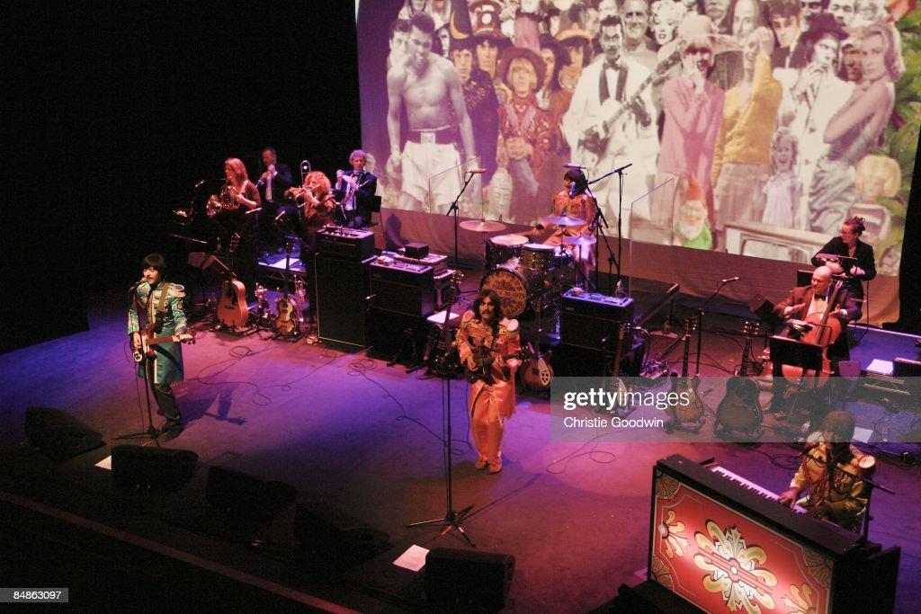 INDIGO2 Photo of BOOTLEG BEATLES, Tribute band The Bootleg Beatles performing on stage