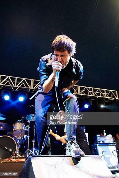 FESTIVAL Photo of BOYSETSFIRE Boysetsfire performing at Leeds Festival 2006