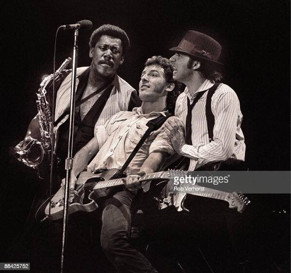 AHOY Photo of Bruce SPRINGSTEEN and Clarence CLEMONS and Steven VAN ZANDT and LITTLE STEVEN LR Clarence Clemons Bruce Springsteen and Steven Van...