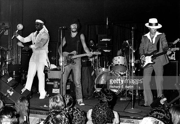 BOTTOMLINE Photo of Bruce SPRINGSTEEN and LITTLE STEVEN and Clarence CLEMONS and Steven VAN ZANDT LR Clarence Clemons Bruce Springsteen Steven Van...