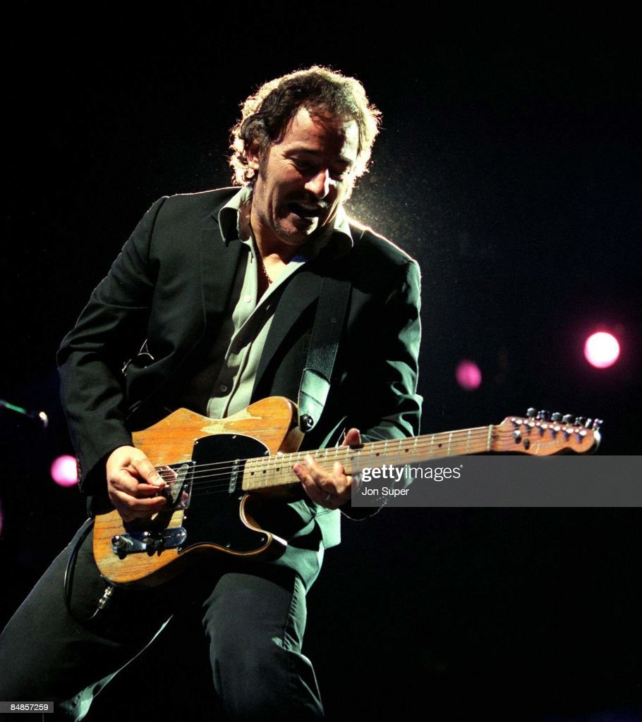 Photo of Bruce SPRINGSTEEN; performing live onstage on Reunion tour