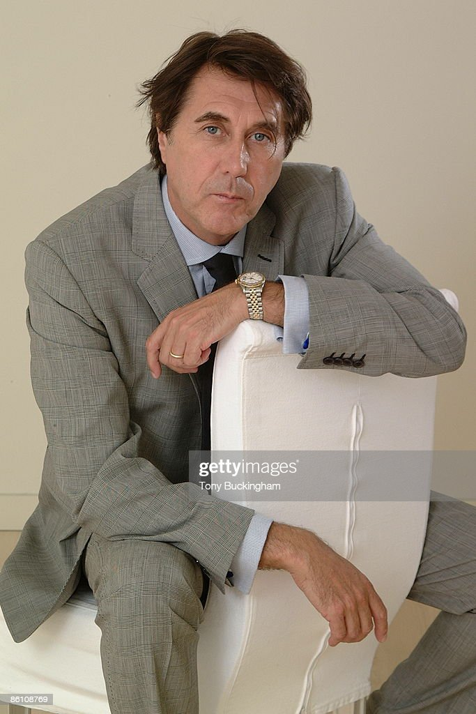 Photo of Bryan FERRY; Bryan Ferry, photographed at The Sanderson Hotel