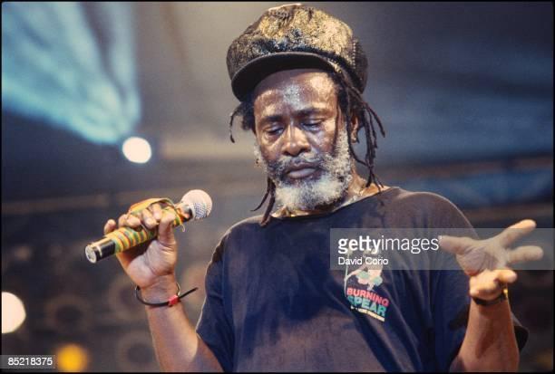 Photo of BURNING SPEAR performing at Reggae Sunsplash Kingston