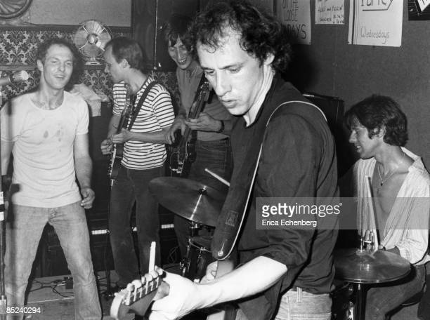 Photo of CAFE RACERS and Mark KNOPFLER Mark Knopfler with the Cafe Racers
