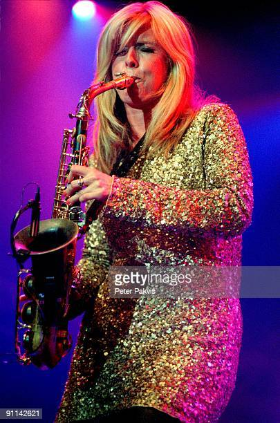 FESTIVAL Photo of Candy DULFER Candy Dulfer North Sea Jazz Rotterdam Nederland 15 juli 2007 Pop jazz funk soul Candy Dulfer gekleed in een glitter...