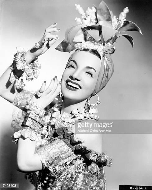 Photo of Carmen Miranda Photo by Michael Ochs Archives/Getty Images