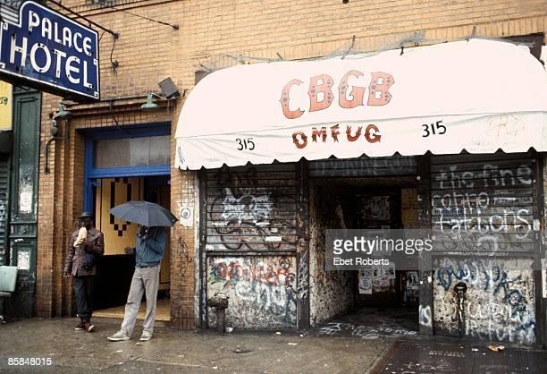 Photo of CBGBs and CBGB's
