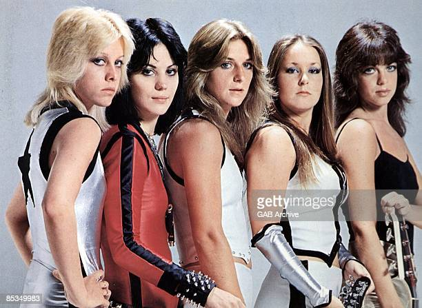 Photo of Cherie CURRIE and Michael STEELE and Joan JETT and RUNAWAYS