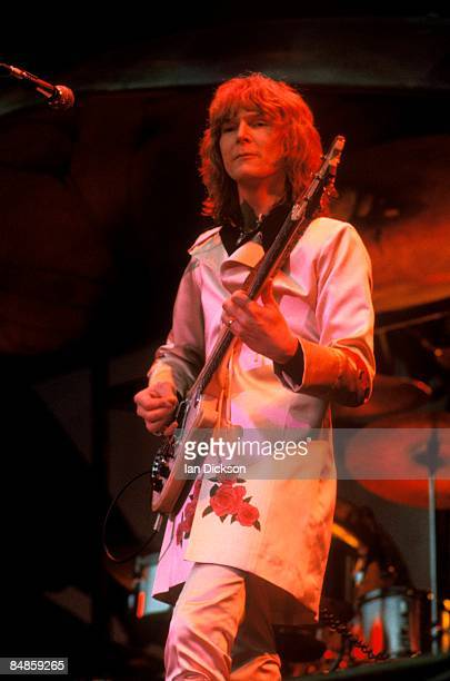 Photo of Chris SQUIRE and YES Chris Squire performing live onstage