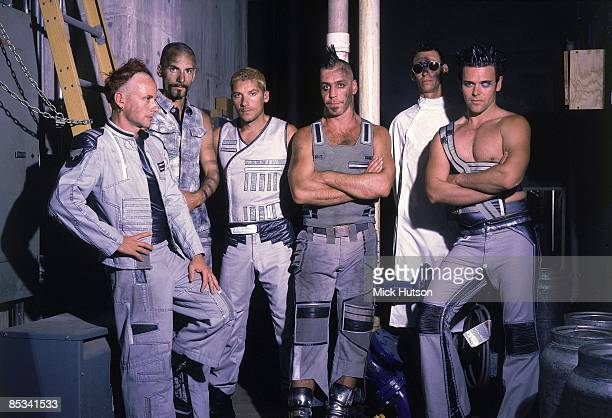 Photo of Christian LORENZ and Till LINDEMANN and Christoph SCHNEIDER and RAMMSTEIN and Paul H LANDERS and Oliver RIEDEL and Richard KRUPSE LR Paul H...
