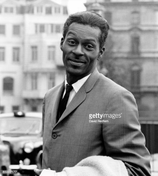 Photo of Chuck BERRY Posed portrait of Chuck Berry