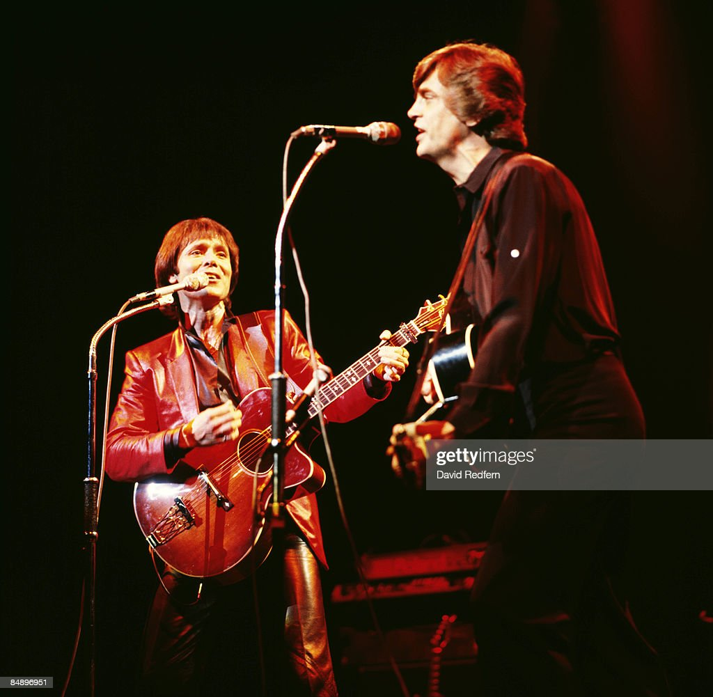ODEON Photo of Cliff RICHARD and Phil EVERLY, <a gi-track='captionPersonalityLinkClicked' href=/galleries/search?phrase=Cliff+Richard&family=editorial&specificpeople=158267 ng-click='$event.stopPropagation()'>Cliff Richard</a> and Phil Everly performing on stage
