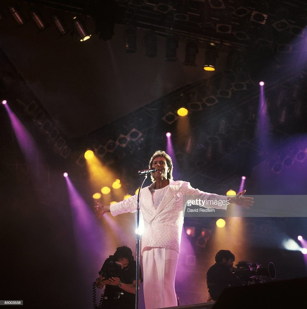 STADIUM Photo of Cliff RICHARD, performing live onstage at Cliff Richard - The Event