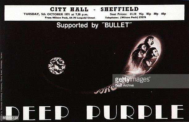 Photo of CONCERT POSTERS and DEEP PURPLE Concert poster