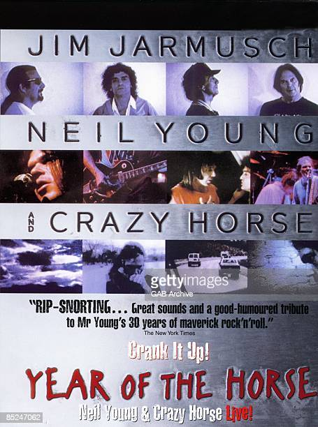 Photo of CRAZY HORSE and Neil YOUNG and FILM POSTERS Year of the Horse with Neil Young