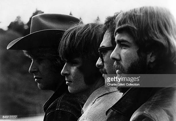 Photo of CREEDENCE CLEARWATER REVIVAL posed